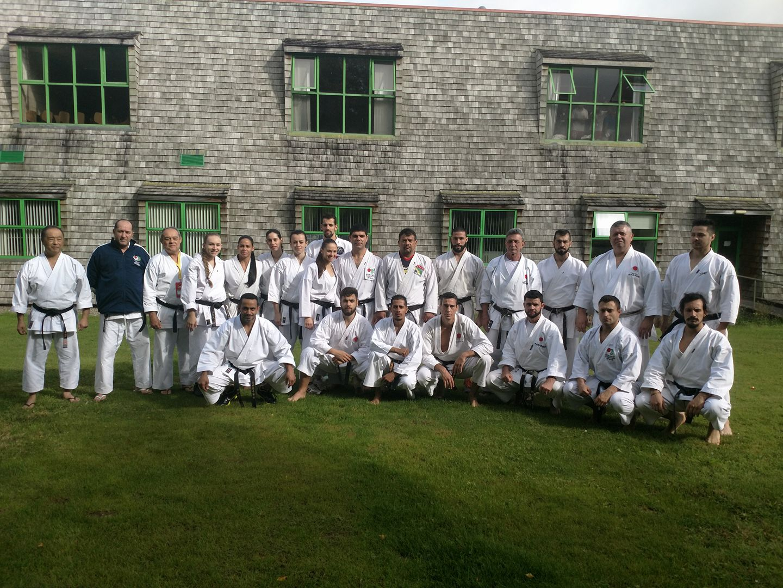 Time Adulto Karate (Fonte JKA Brasil)
